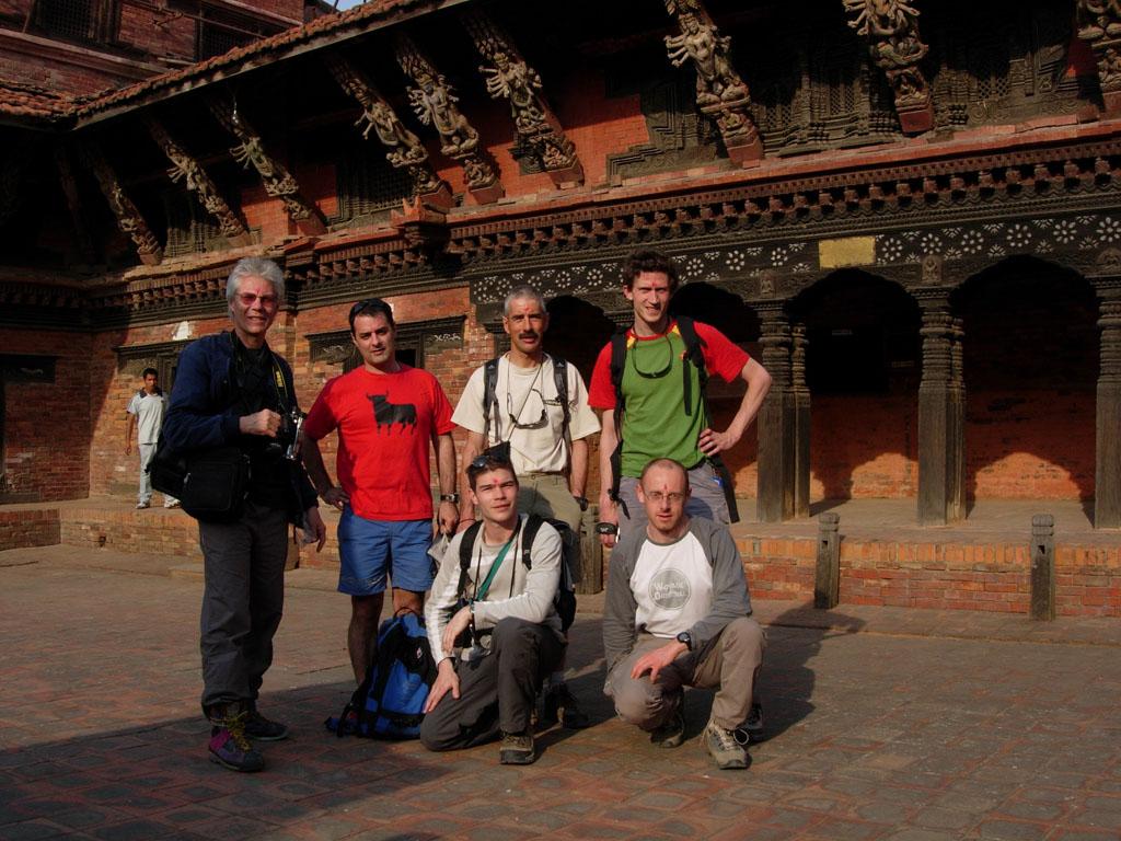 Les aventures de Nono au Tibet. Katmandu